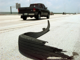 tire blowout accident