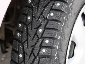 studded snow tire nokian