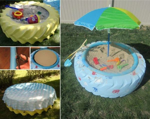 used-tire-beach-umbrella