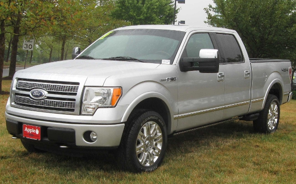 ford f150 stock tires